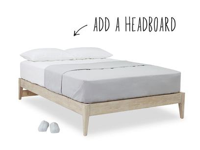 First Base bed base wood bed frame
