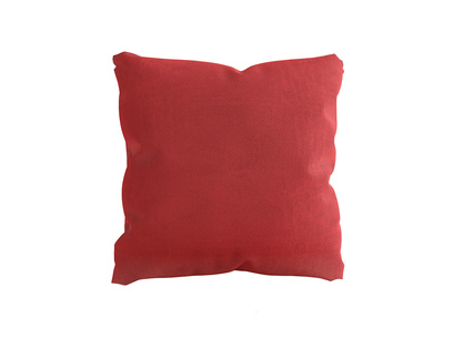 Jumbo Scatter in True Red Plush Velvet