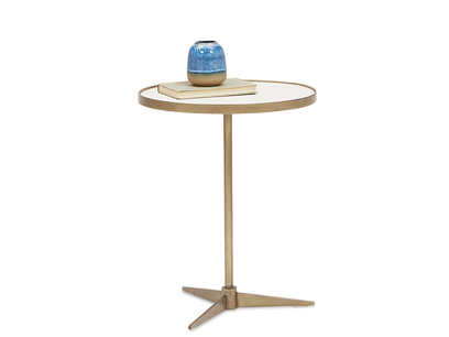 Vino small side table angled