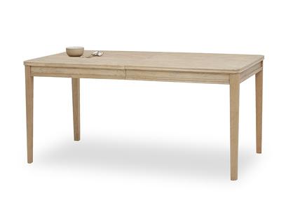 Jigsaw Oak Dining table angled