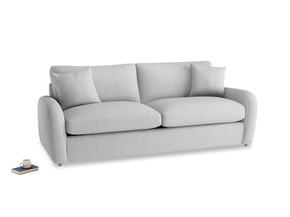 Large Easy Squeeze Sofa Bed in Cobble house fabric