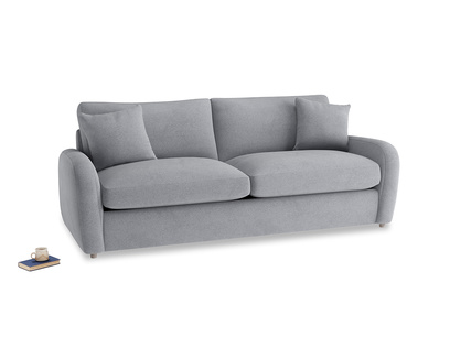 Large Easy Squeeze Sofa Bed in Dove grey wool