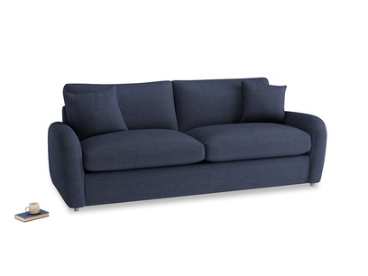 Large Easy Squeeze Sofa Bed in Seriously Blue Clever Softie