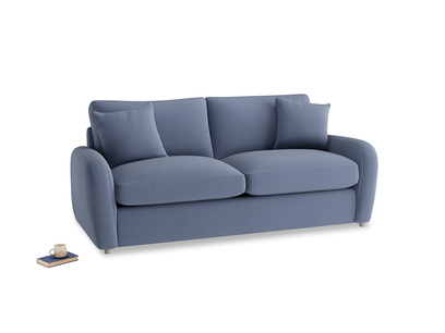 Medium Easy Squeeze Sofa Bed in Breton blue clever cotton