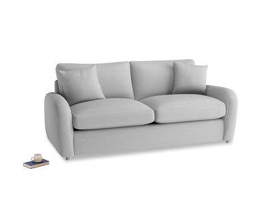 Medium Easy Squeeze Sofa Bed in Pewter Clever Softie