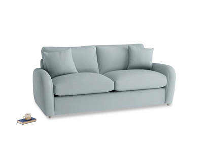 Medium Easy Squeeze Sofa Bed in Quail's egg clever linen