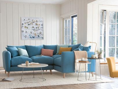 Squishmeister comfy corner sofa