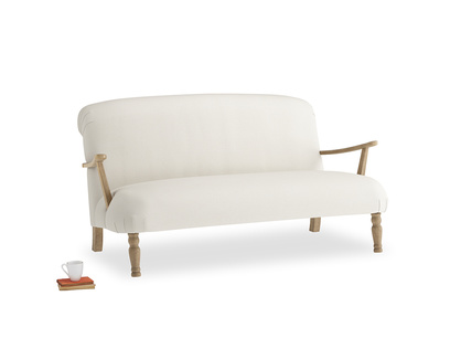 Medium Brew Sofa in Chalky White Clever Softie