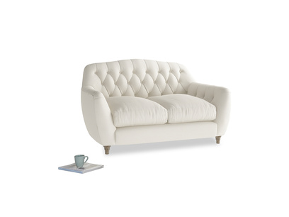 Small Butterbump Sofa in Chalky White Clever Softie