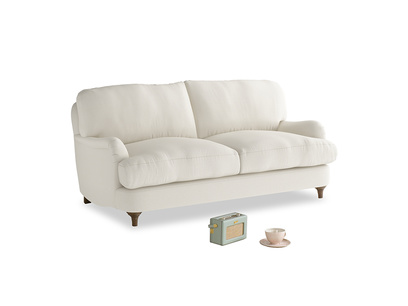 Small Jonesy Sofa in Chalky White Clever Softie