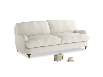 Medium Jonesy Sofa in Chalky White Clever Softie