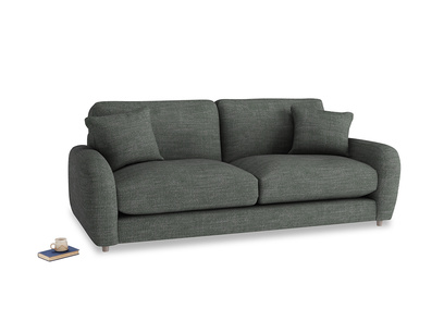Medium Easy Squeeze Sofa in Pencil Grey Clever Laundered Linen