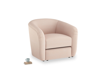 Tootsie Armchair in Pink clay Clever Softie