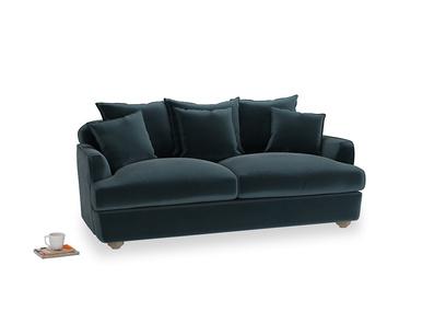 Medium Smooch Sofa in Bluey Grey Clever Deep Velvet