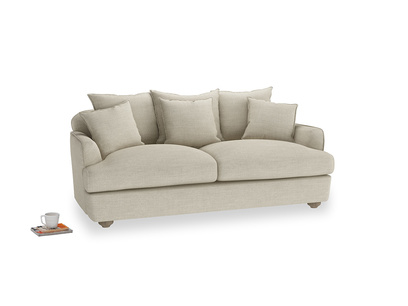 Medium Smooch Sofa in Shell Clever Laundered Linen