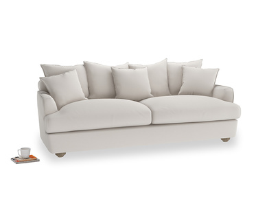 Large Smooch Sofa in Chalk clever cotton