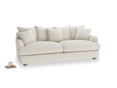 Large Smooch Sofa in Chalky White Clever Softie