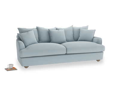 Large Smooch Sofa in Scandi blue clever cotton