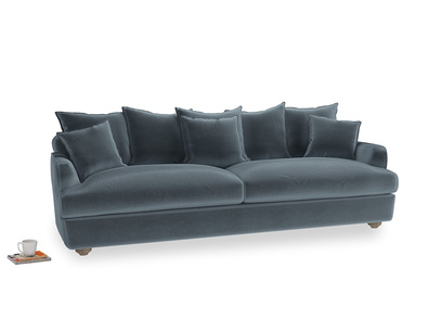 Extra large Smooch Sofa in Odyssey Clever Deep Velvet
