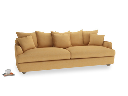 Extra large Smooch Sofa in Honeycomb Clever Softie