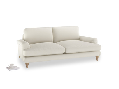 Medium Cinema Sofa in Chalky White Clever Softie