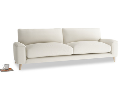 Large Strudel Sofa in Chalky White Clever Softie