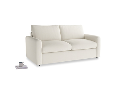 Chatnap Storage Sofa in Chalky White Clever Softie with both arms