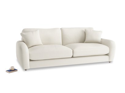 Large Easy Squeeze Sofa in Chalky White Clever Softie