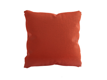 Classic Scatter in Lava plush velvet