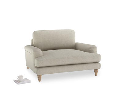 thatch house fabric Cinema Loveseat