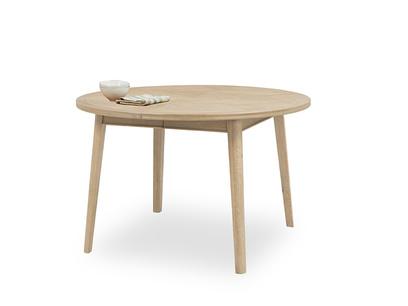 Parquet Pie extendable dining table