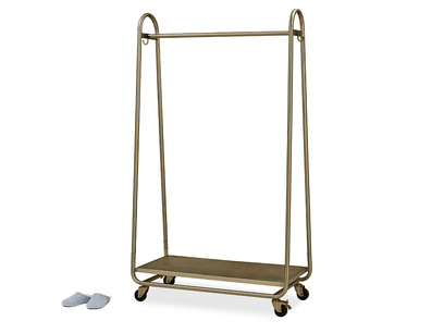 Bellboy Brass Free Standing Hanging Rail
