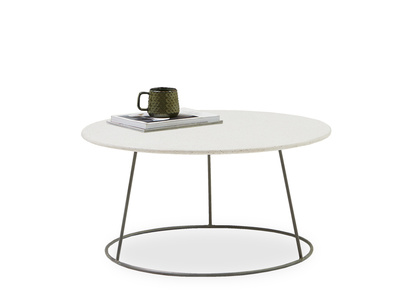 Scamp marble terrazzo top coffee table