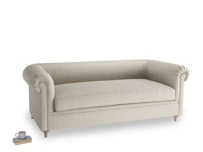 Large Humblebum Sofa in Thatch house fabric