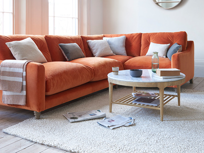 Slim Jim large corner sofa