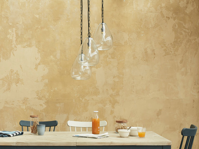 Raindrop Bubble Glass Pendant Light Cluster