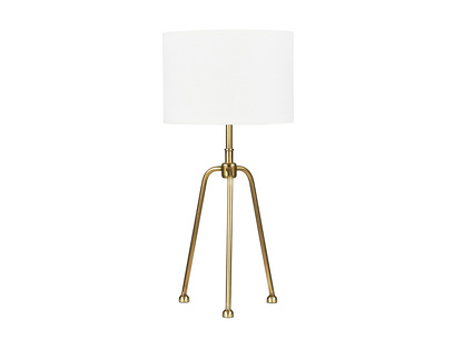 Shutterbug Table Lamp with Natural Hessian shade