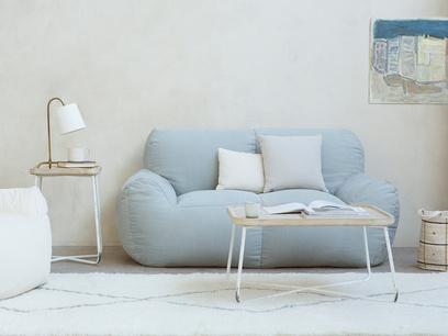 Layabout foam filled frameless floor sofa