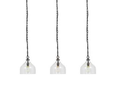 Cowbell Glass Cluster Pendant Lights