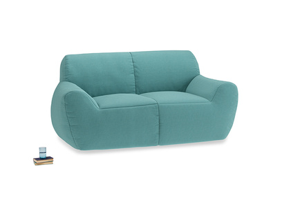 Layabout Sofa Squidger in Peacock brushed cotton