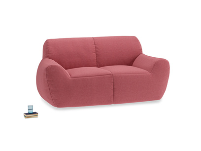 Layabout Sofa Squidger in Raspberry brushed cotton