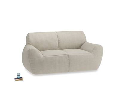 Layabout Sofa Squidger in Thatch house fabric