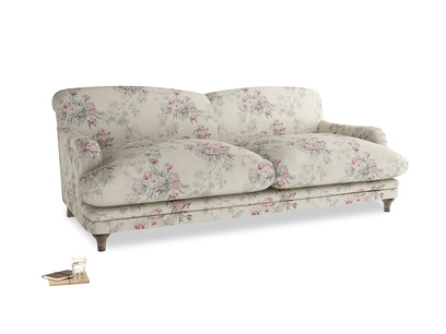 Large Pudding Sofa in Pink vintage rose