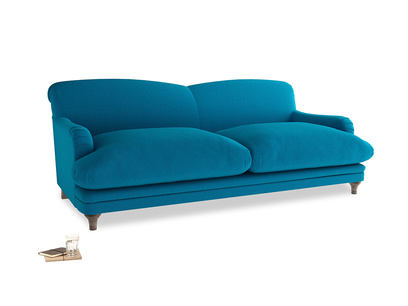 Large Pudding Sofa in Bermuda Brushed Cotton