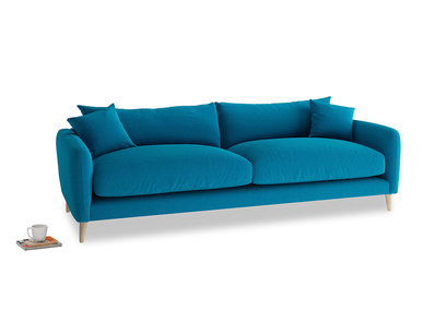 Large Squishmeister Sofa in Bermuda Brushed Cotton