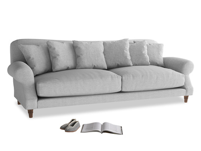 Extra large Crumpet Sofa in Cobble house fabric