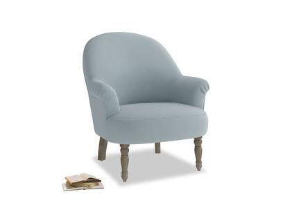 Munchkin Armchair in Scandi blue clever cotton