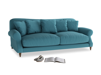 Large Crumpet Sofa in Lido Brushed Cotton