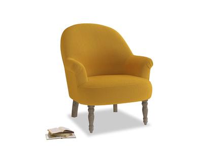 Munchkin Armchair in Pollen Clever Deep Velvet