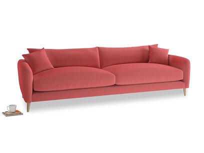 Extra large Squishmeister Sofa in Carnival Clever Deep Velvet